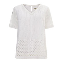 Buy Studio 8 Orlena Top, White Online at johnlewis.com