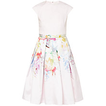 Buy Ted Baker Glorii Hanging Gardens Skirt Dress, Nude Pink Online at johnlewis.com