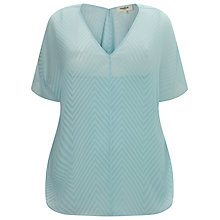 Buy Studio 8 Harlow Top, Pale Blue Online at johnlewis.com