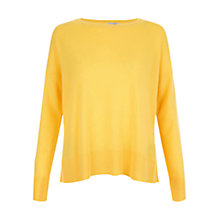 Buy Hobbs Atwell Jumper, Sunshine Yellow Online at johnlewis.com