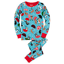 Buy Hatley Boys' Raining Dogs Pyjamas, Blue Online at johnlewis.com