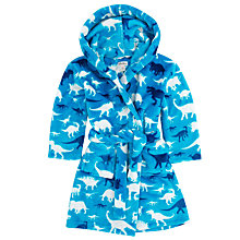 Buy Hatley Boys' Dinosaur Robe, Blue Online at johnlewis.com