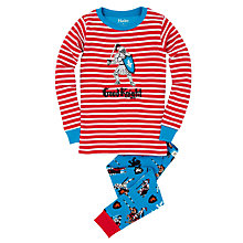 Buy Hatley Boys' Medieval Knight Pyjamas, Red Online at johnlewis.com