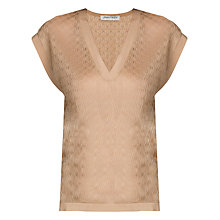 Buy Urban Touch Knitted Top, Beige Online at johnlewis.com