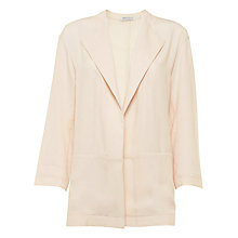 Buy Urban Touch Three Quarter Sleeve Pocket Jacket, Cream Online at johnlewis.com