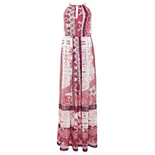 Buy Urban Touch Ethnic Print Maxi Dress, Cream Online at johnlewis.com