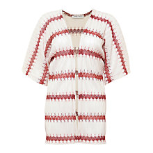 Buy Urban Touch Knit Printed Kimono, Cream Online at johnlewis.com