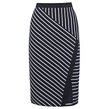 Buy Oasis Wrap Pencil Skirt, Multi Online at johnlewis.com