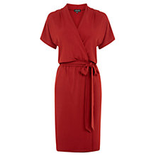 Buy Warehouse Short Sleeve Wrap Dress Online at johnlewis.com