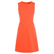 Buy Karen Millen Pocket Detail Dress, Orange Online at johnlewis.com