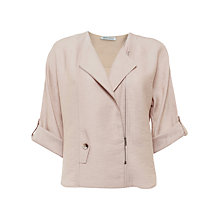 Buy Urban Touch Zip Detailed Jacket, Beige Online at johnlewis.com