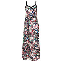 Buy Urban Touch Floral Print Cami Maxi Dress, Black Online at johnlewis.com