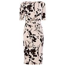 Buy Coast Surrey Print Jamilia Dress, Mono Online at johnlewis.com