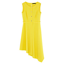 Buy Karen Millen Soft Shirt Dress, Yellow Online at johnlewis.com