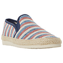 Buy Dune Funfair Canvas Espadrilles Online at johnlewis.com