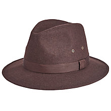 Buy John Lewis Wool Ambassador Hat, Brown Online at johnlewis.com