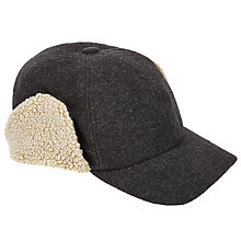 Buy JOHN LEWIS & Co. Six Panel Borg Cap, Grey Online at johnlewis.com