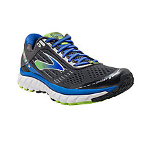 Buy Brooks Ghost 9 Men's Running Shoes, Black/Multi Online at johnlewis.com