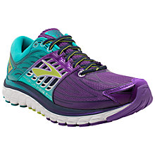 Buy Brooks Glycerin 14 Women's Running Shoes, Purple/Green Online at johnlewis.com