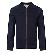 Buy BOSS Orange Zaku Bomber Jacket, Dark Blue Online at johnlewis.com