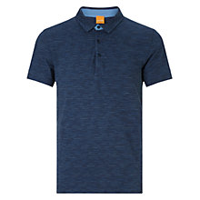 Buy BOSS Orange Picco Polo T-Shirt, Navy Online at johnlewis.com