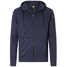 Buy BOSS Orange Ztylo Jersey Zip Hoodie Online at johnlewis.com