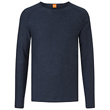 Buy BOSS Orange Kamerso Crew Neck Sweater Online at johnlewis.com
