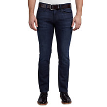 Buy BOSS Orange Slim Fit Orange63 Jeans, Navy Online at johnlewis.com