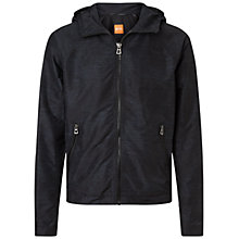 Buy BOSS Orange Onero Hoodie, Dark Blue Online at johnlewis.com