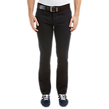 Buy BOSS Orange Slim Jeans, Black Online at johnlewis.com