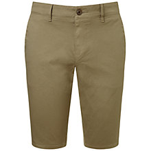 Buy BOSS Orange Slim Chino Shorts, Light Pastel Brown Online at johnlewis.com