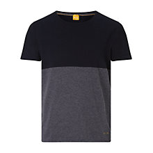 Buy BOSS Orange Tuomo T-Shirt, Dark Blue Online at johnlewis.com
