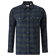 Buy Levi's Worker Shirt, Licorice Duffel Bag Plaid Online at johnlewis.com