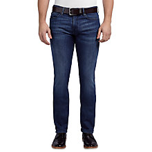 Buy BOSS Orange Regular Fit Orange24 Jeans, Medium Blue Online at johnlewis.com