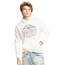 Buy Denim & Supply Ralph Lauren Hoodie, Cream Online at johnlewis.com