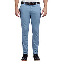 Buy BOSS Orange Sandrew1-D Trousers, Light Pastel Blue Online at johnlewis.com