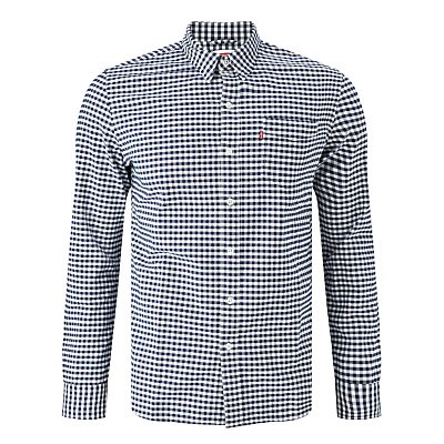 Image of Levi's Sunset 1 Pocket Gingham Long Sleeve Shirt