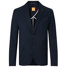 Buy BOSS Orange Benestretch Blazer, Dark Blue Online at johnlewis.com