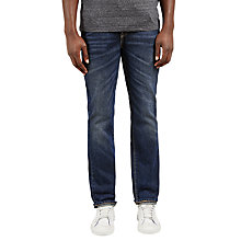 Buy Levi's 511 Heavy Slim Fit Jeans, Mid Wash Online at johnlewis.com