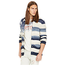 Buy Denim & Supply Ralph Lauren Classic USA Shawl Collar Cardigan, Blue Online at johnlewis.com
