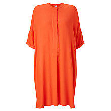 Buy Kin by John Lewis Oversize Shirt Dress, Coral Online at johnlewis.com