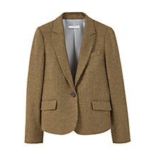 Buy Mango Wool-Blend Blazer Online at johnlewis.com