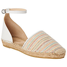 Buy L.K. Bennett Dorian Two Part Espadrilles Online at johnlewis.com