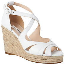 Buy L.K. Bennett Maggie Espadrille Wedge Heeled Sandals Online at johnlewis.com