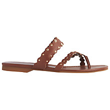 Buy L.K. Bennett Allure Cross Strap Sandals Online at johnlewis.com