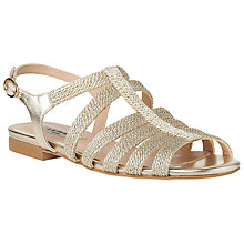 Buy L.K. Bennett Raine Multi Strap Sandals, Soft Gold Online at johnlewis.com