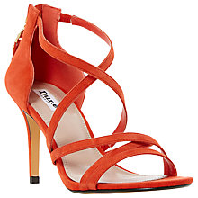 Buy Dune Malibu Cross Strap Stiletto Sandals Online at johnlewis.com