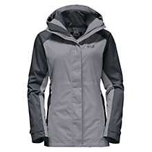 Buy Jack Wolfskin North Slope Flex Waterproof Women's Jacket, Grey Online at johnlewis.com
