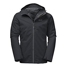 Buy Jack Wolfskin Chilly Morning Insulated Men's Jacket, Black Online at johnlewis.com