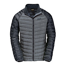 Buy Jack Wolfskin Zenon Altis Down Insulated Men's Jacket, Grey Online at johnlewis.com